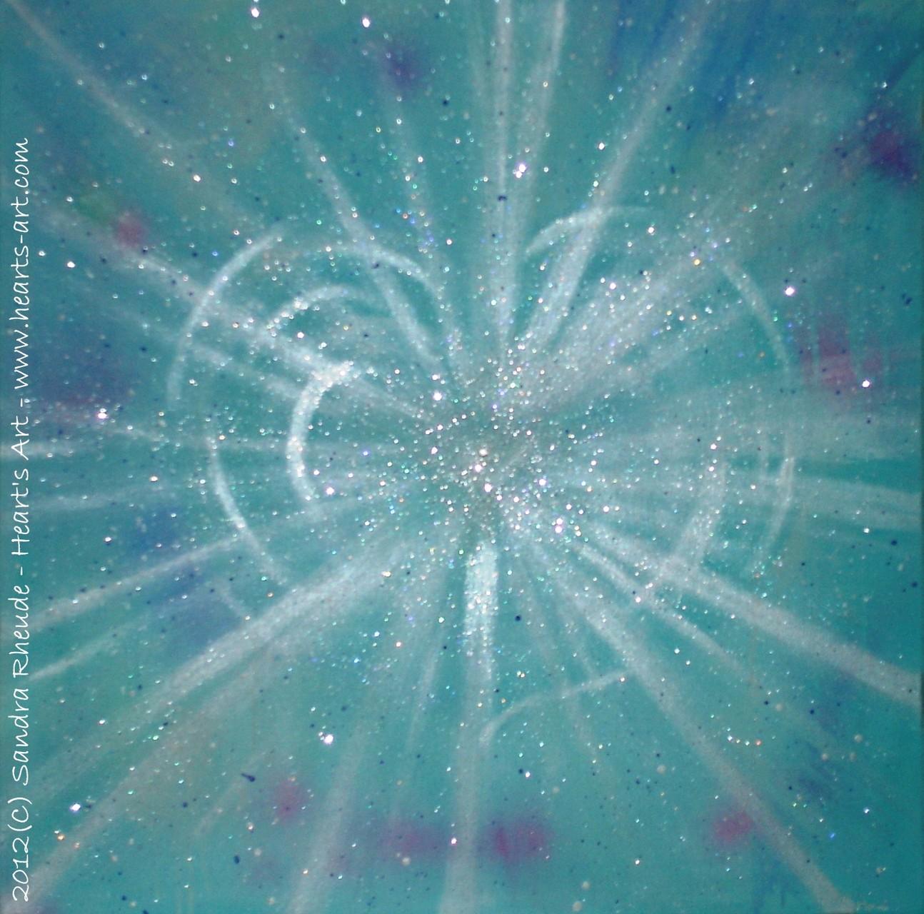 'Heart of Light' - 2012/30 - Acryl auf Leinwand - 60 x 60 cm - € 220