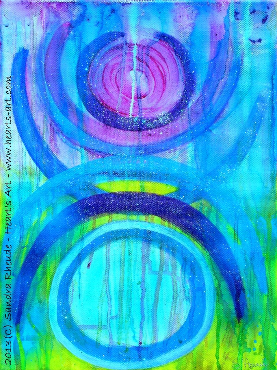 'Cheekiness' - 2013/37 - Acryl auf Leinwand - 30 x 40 cm - verkauft