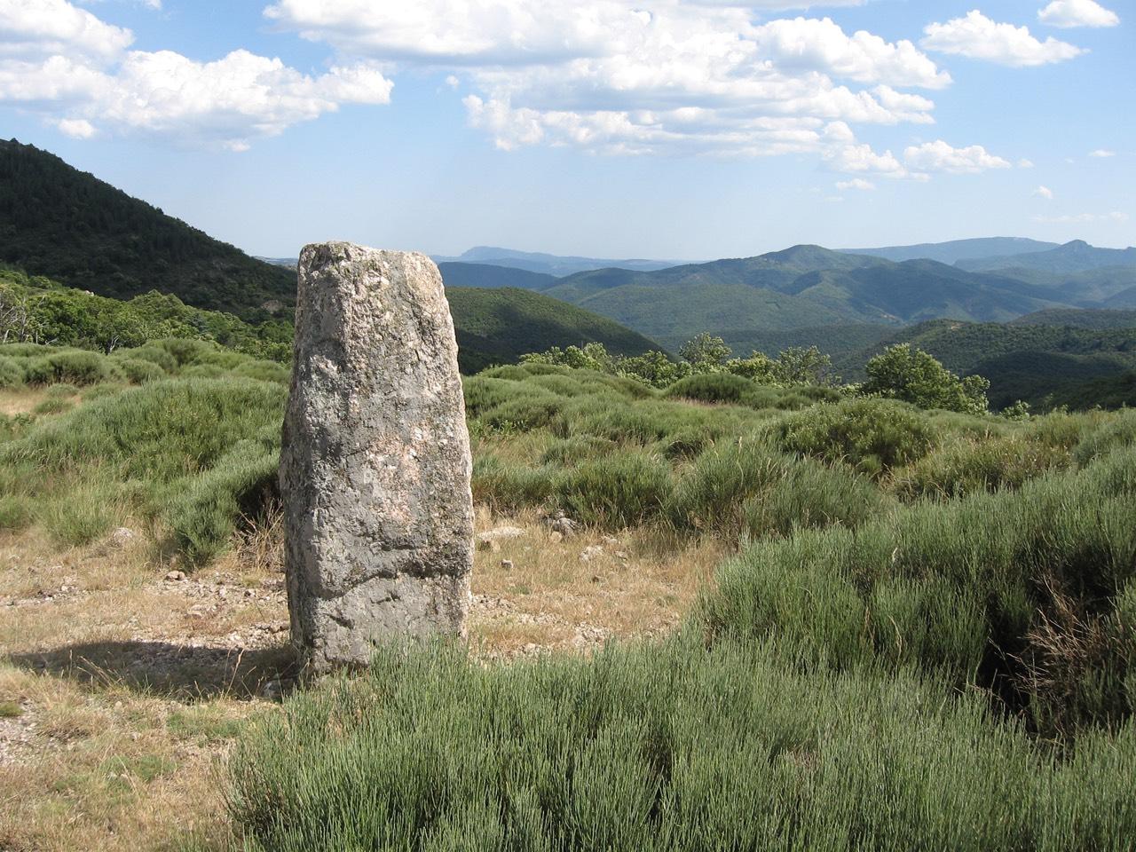 Menhir Cévennes Pierrefiche