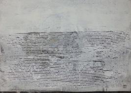 Landschaft ohne Frau XVII- 2016 - 70 x 100 - Acryl auf Papier