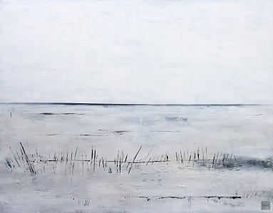 Landschaft ohne Frau XI- 2016 - 140 x 180 - Acryl auf Leiwand