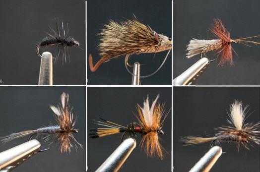Trockenfliegen dryfly Fliegenfischen Fliegenbinden fly tying