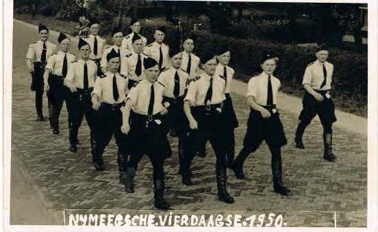 Vierdaagse 1950 Gestichtswacht