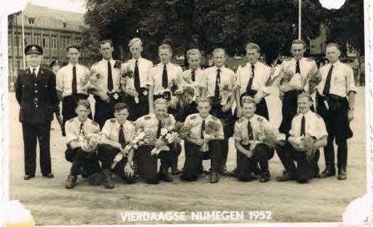 Vierdaagse 1952 Gestichtswacht