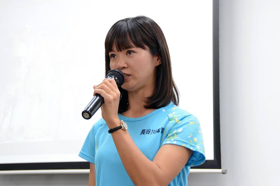 パラアスリートの村上清加選手(長谷川体育施設)