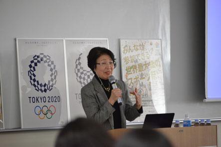 1964年東京五輪で通訳ボランティアとして活躍した諏訪なほみ氏 (上智OG)