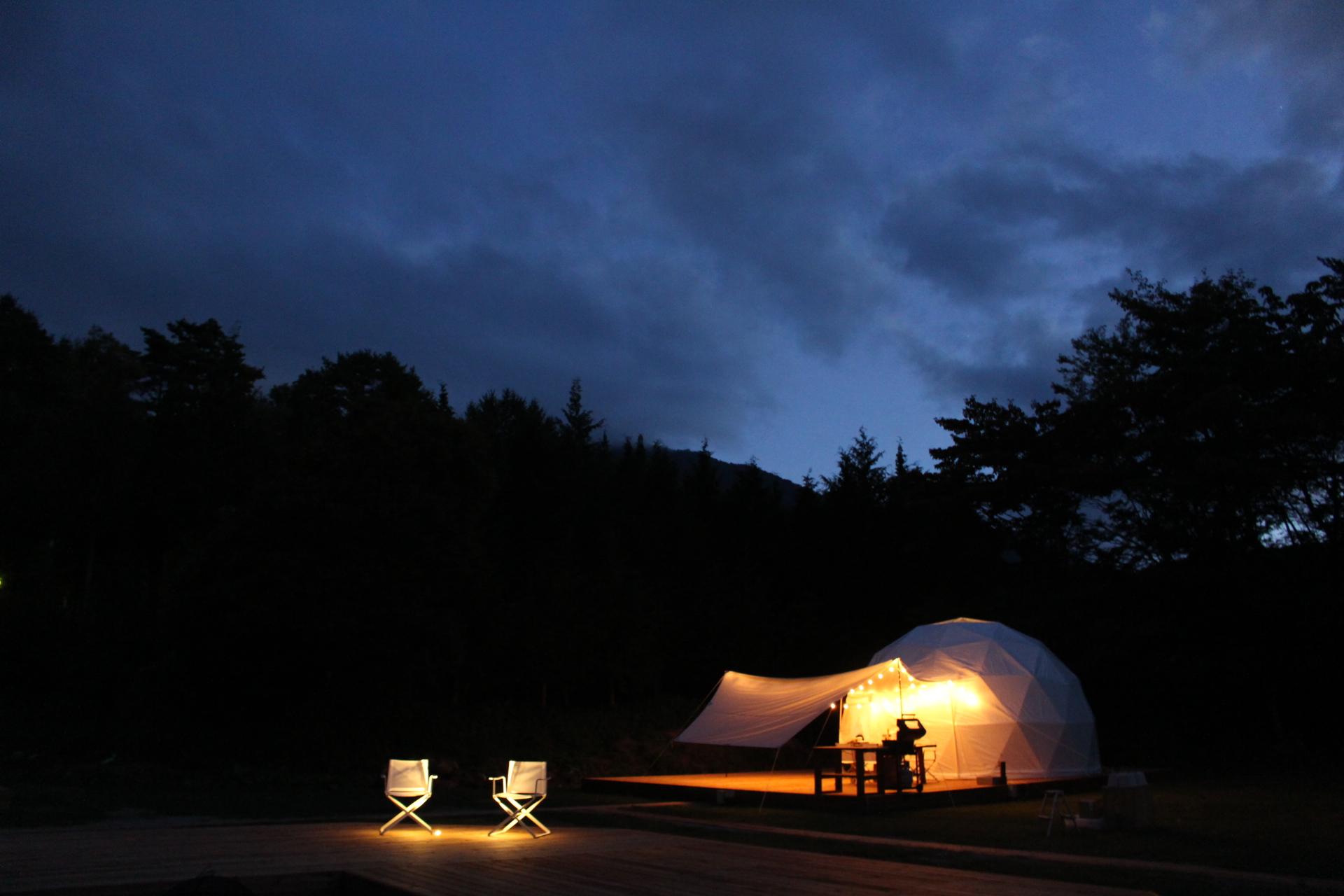 フォレストドーム木曽駒高原