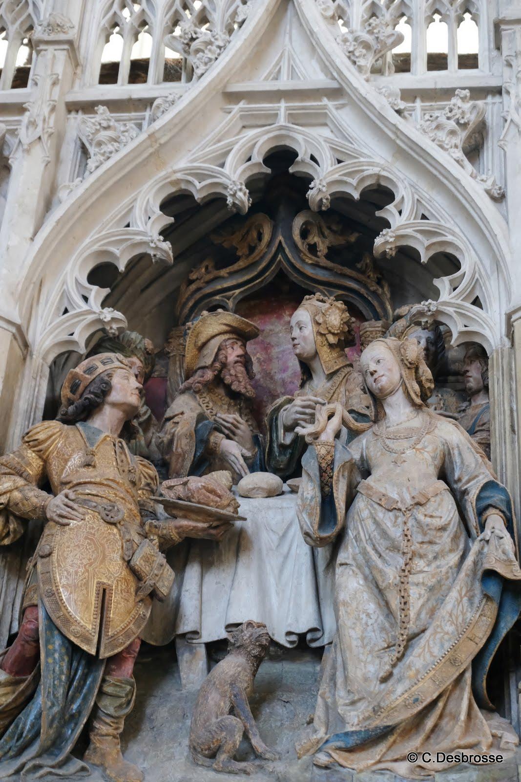 La cathédrale : Hérode et Salomé