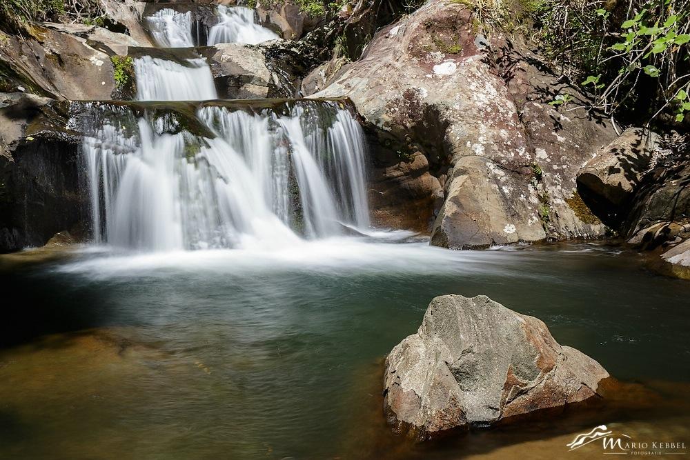 North Island: Seven Stairs to Heaven Wasserfall in den Rapaura Watergardens
