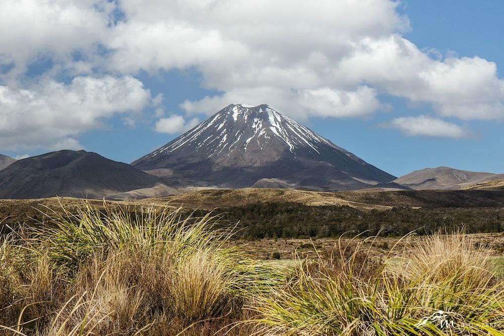 North Island: Mt. Ngauruhoe auch bekannt als Schicksalsberg bei J.R.R. Tolkien