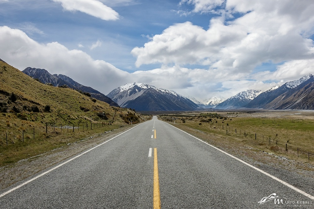 South Island: Auf den Weg zum Mt. Cook Nationalpark