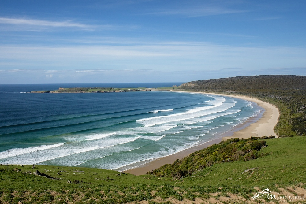 South Island: Am Florence Hill Lookout in den Catlins
