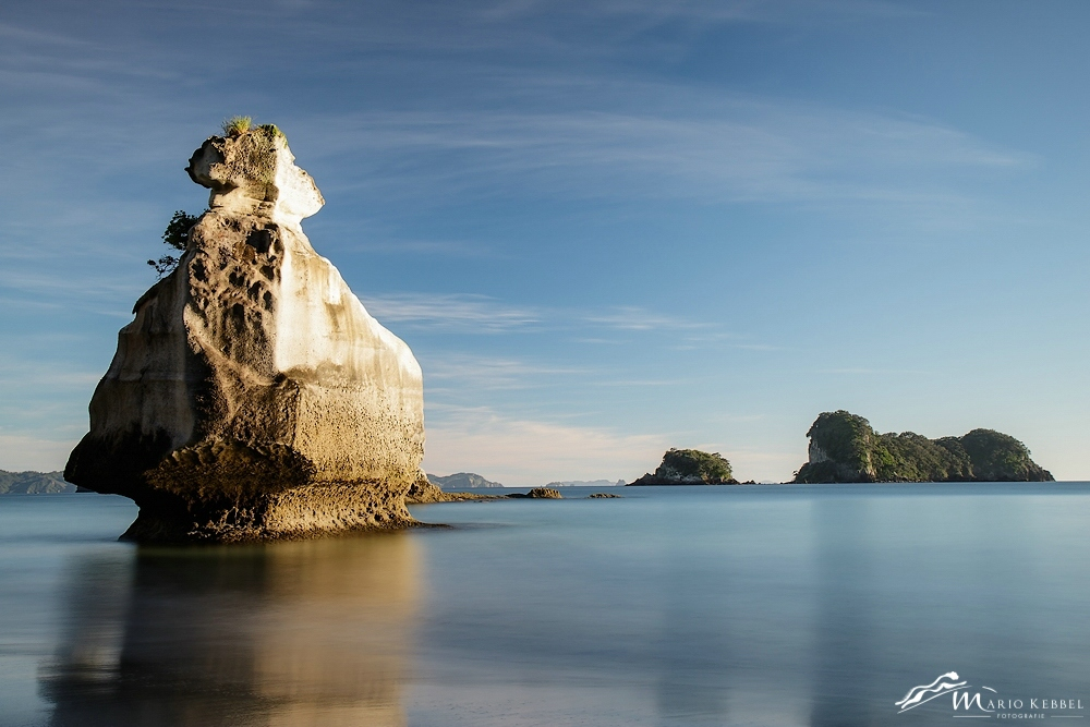 North Island: An der Cathedral Cove