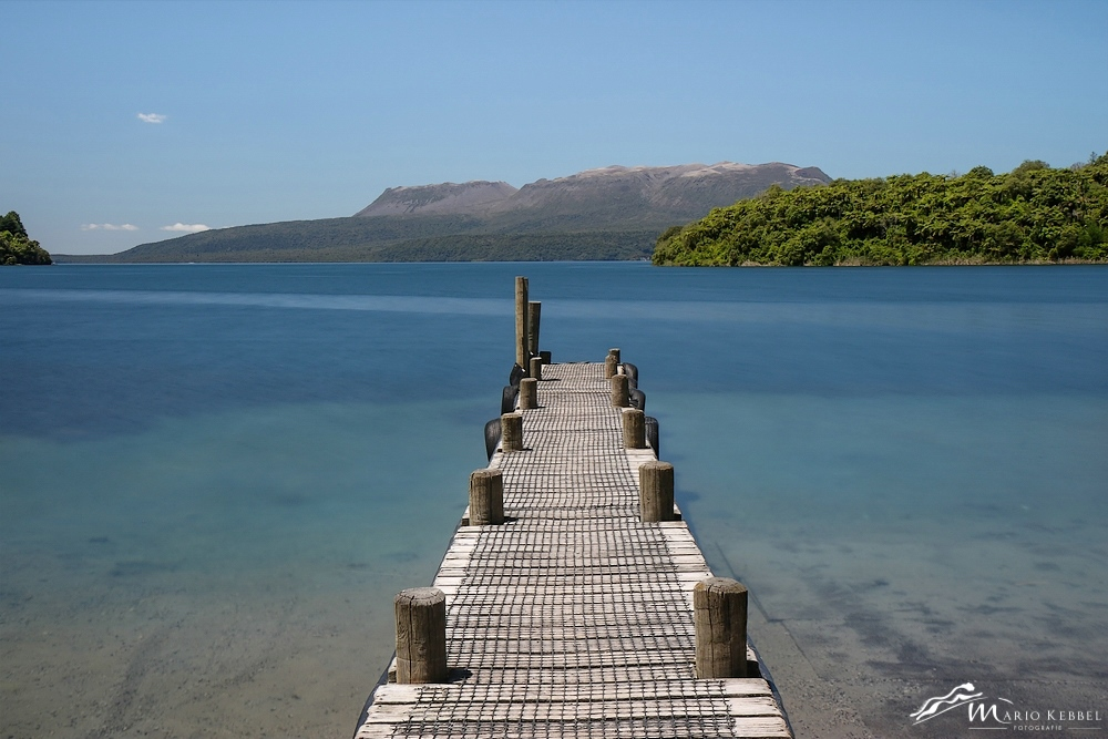 North Island: Am Lake Tarawera