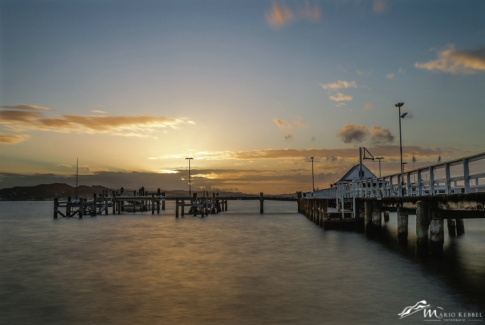 North Island: Sonnenuntergang in Russell