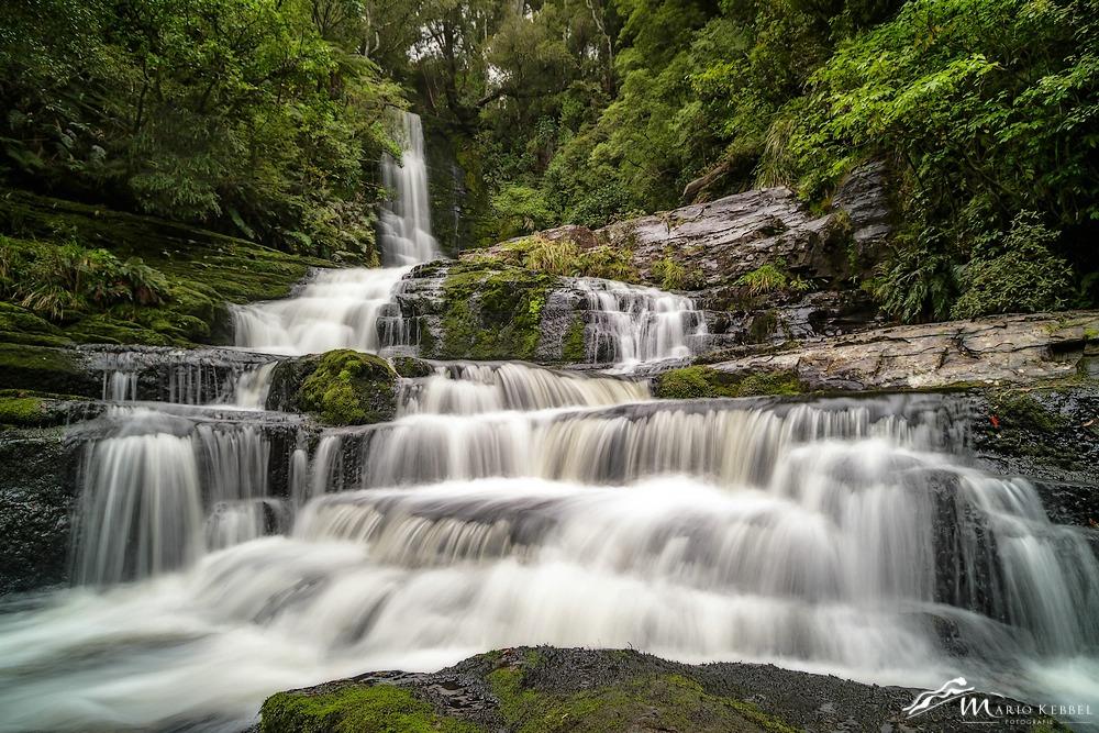 South Island: McLean Wasserfall