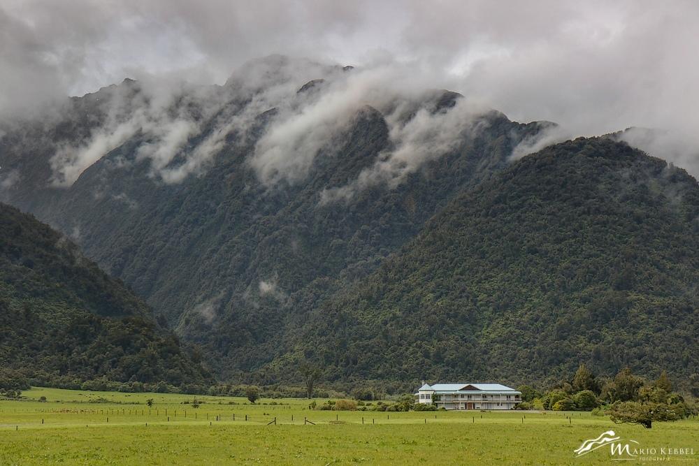 South Island: Am Franz Josef Gletscher