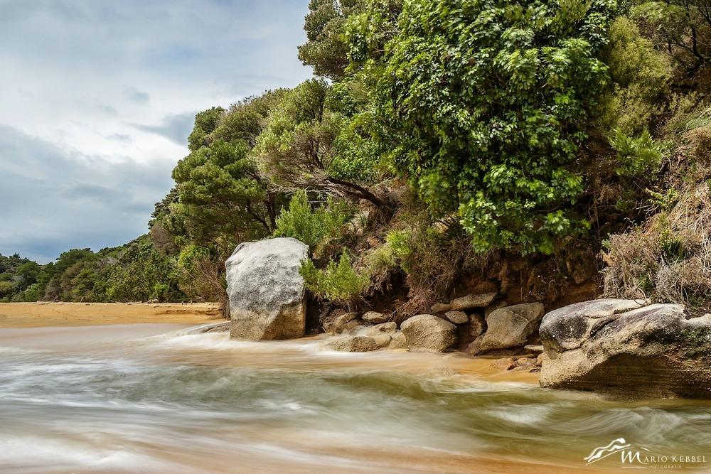 South Island:Unterwegs im Abel Tasman Nationalpark