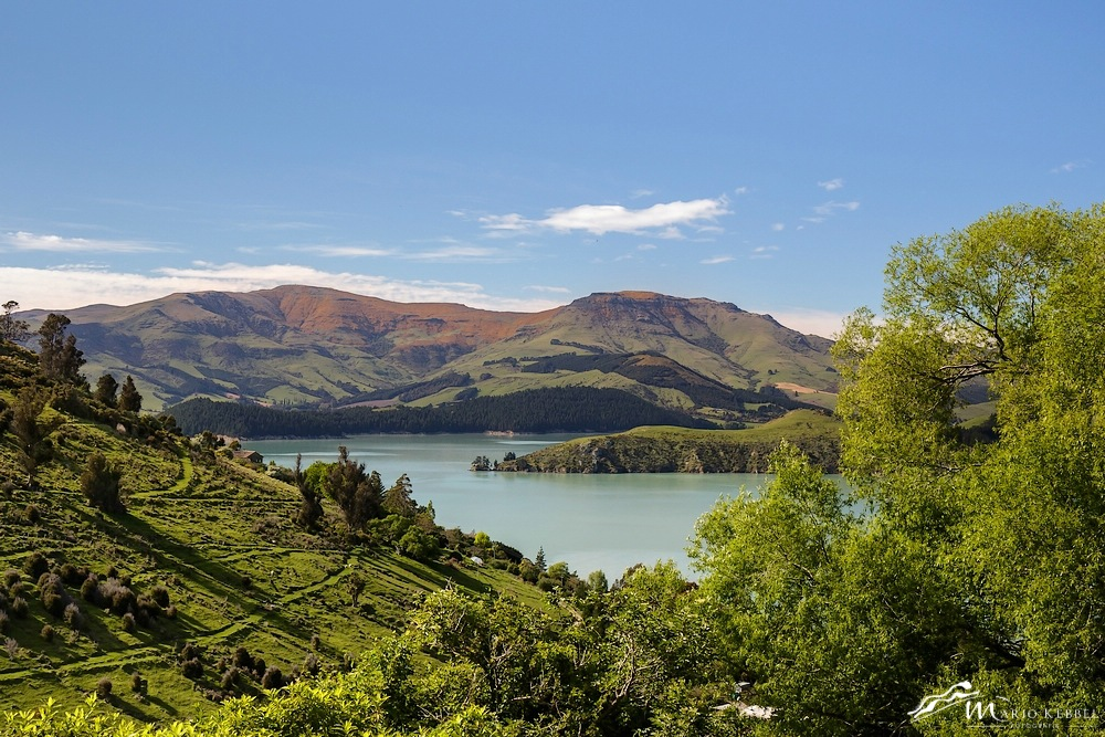 South Island: Auf dem Banks Peninsula Scenic Drive