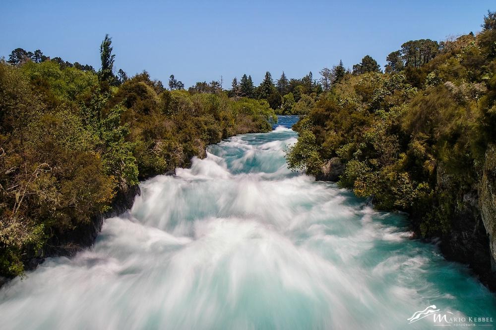 North Island: Huka Falls des Taupo River