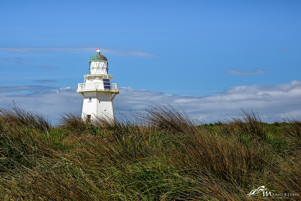 South Island: Am Waipapa Point Leuchtturm