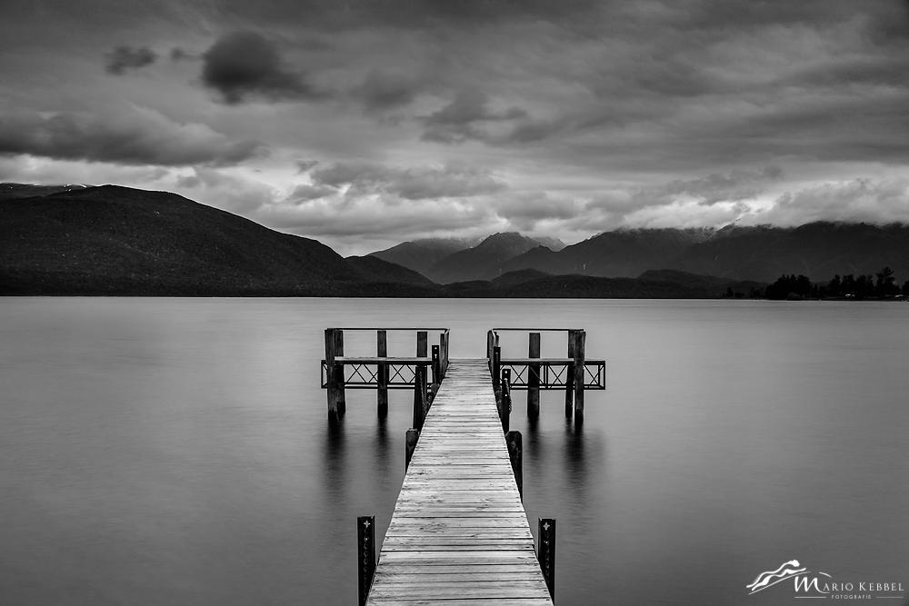 South Island: Blick über den Lake Te Anau