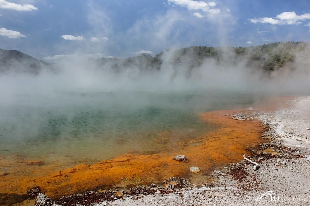 North Island: Schwefelquellen im Wai-O-Tapu Thermal Wonderland