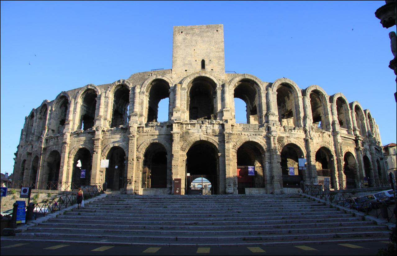 Amphitteater in Arles mein Ziel