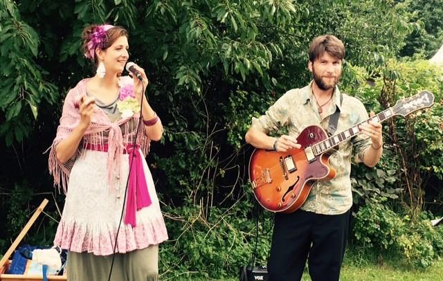 """""""JeF-Music"""" auf dem Gartenzauber 2015"""