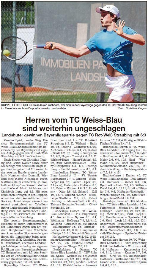 Landshuter Zeitung 22.05.2019