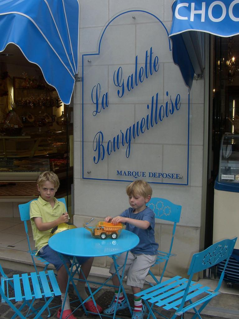 Bourgueil la galette Bourgueilloise