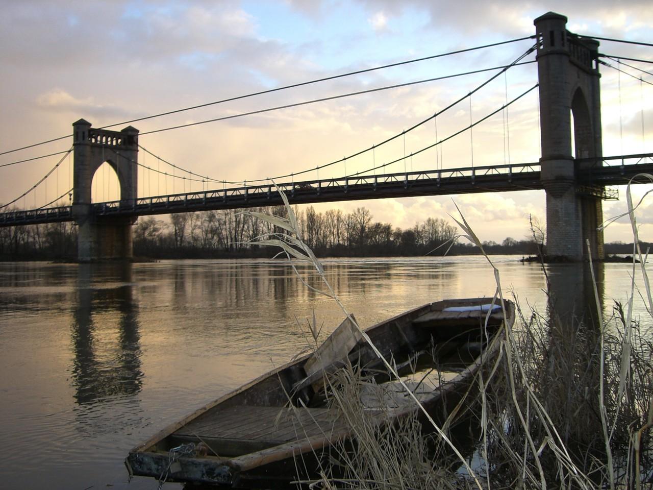 Le pont de Langeais 22 rue du poids Bourgueil