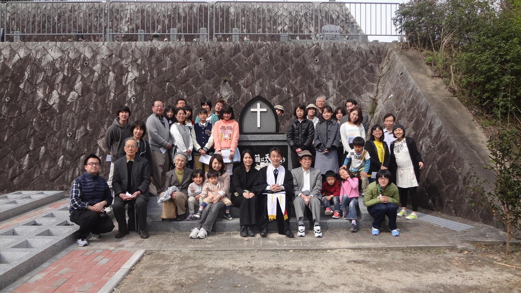 20150412 墓前礼拝