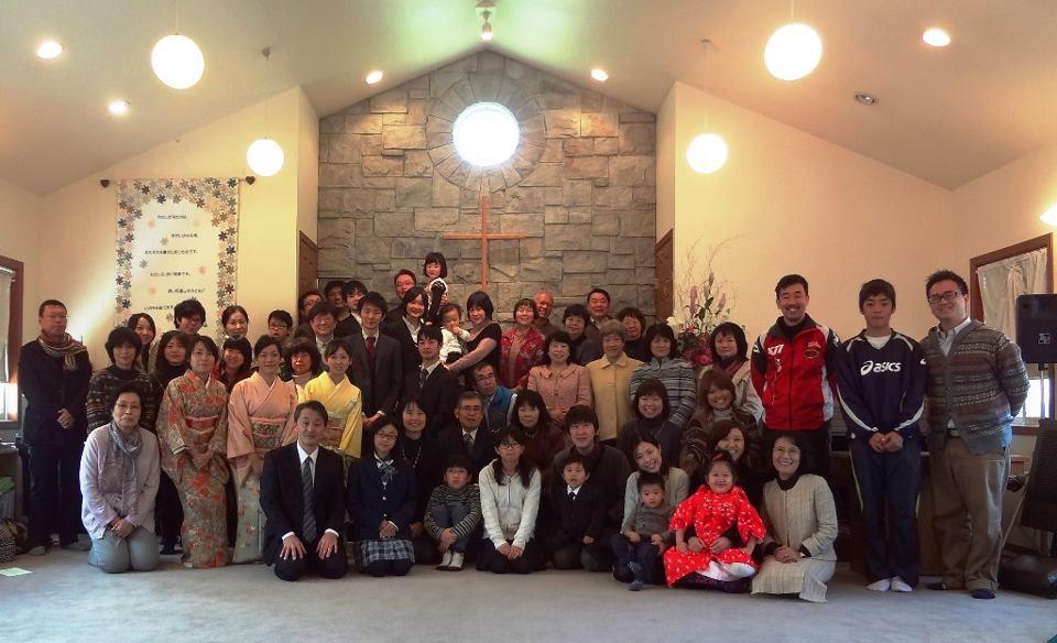 2013年元旦礼拝