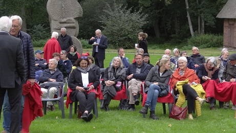 Vernissage Gisbert-K. Jungermann 19.09.21 / Foto: Rolf Johanning