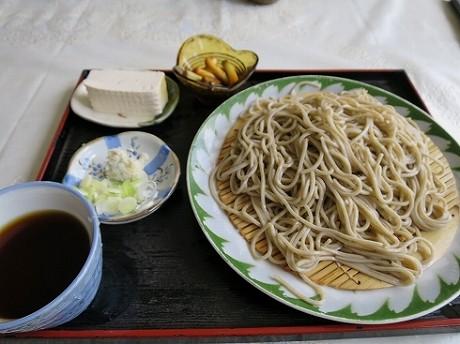 PM1:10 もりそば:550円(安い!)