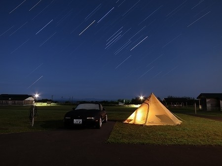 羅臼オートキャンプ場    2015.8月