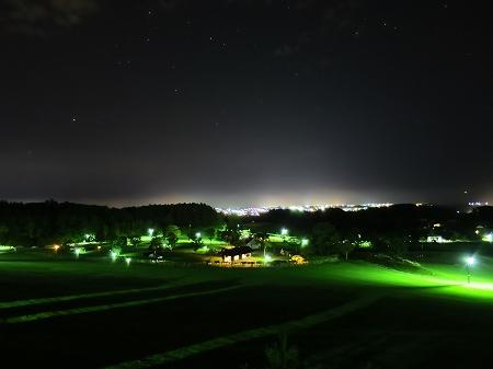 2016年10月 網走の夜景が綺麗