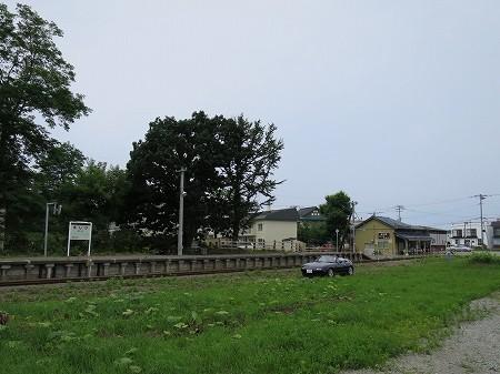 JR増毛駅