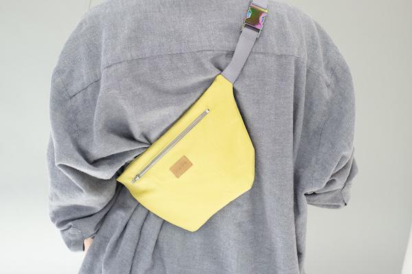Zacamo - Bauchtasche gelb - Tasche wasserabweisend - Tasche - Handtasche - Herrentasche - Damentasche