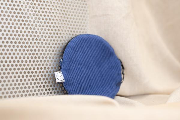 runder Beutel - Zacamo - Cordtäschchen - Accessoires - Accessoire - kleines Täschchen - blau kobaltblau