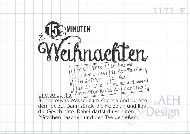 Texte für Advent, Weihnachten und Winter - AEH Design Stempel