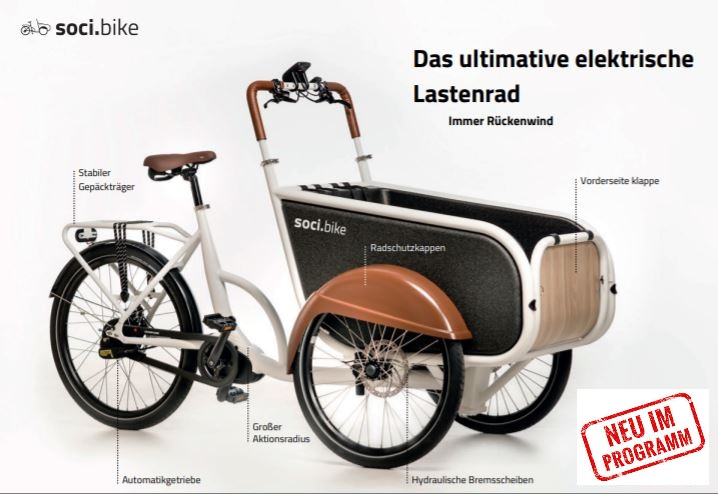 Neu im Programm: Soci.Bike