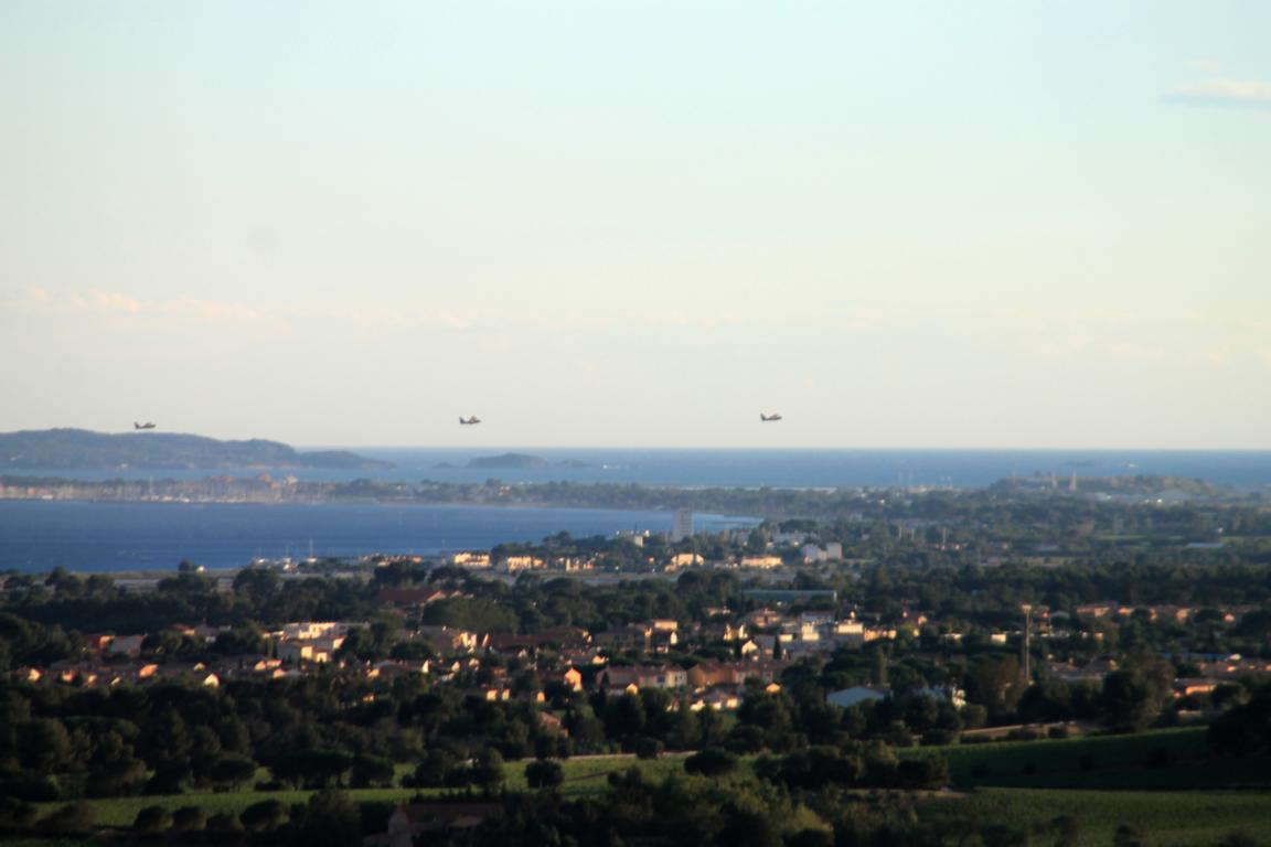 Löschflugzeuge im Einsatz