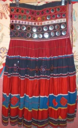 falda antigua Gujarat 2
