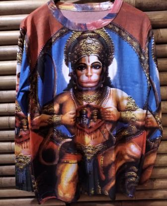 camiseta hanuman 7
