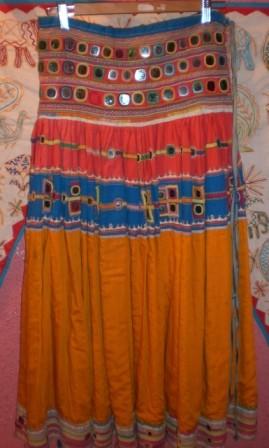falda antigua Gujarat 1