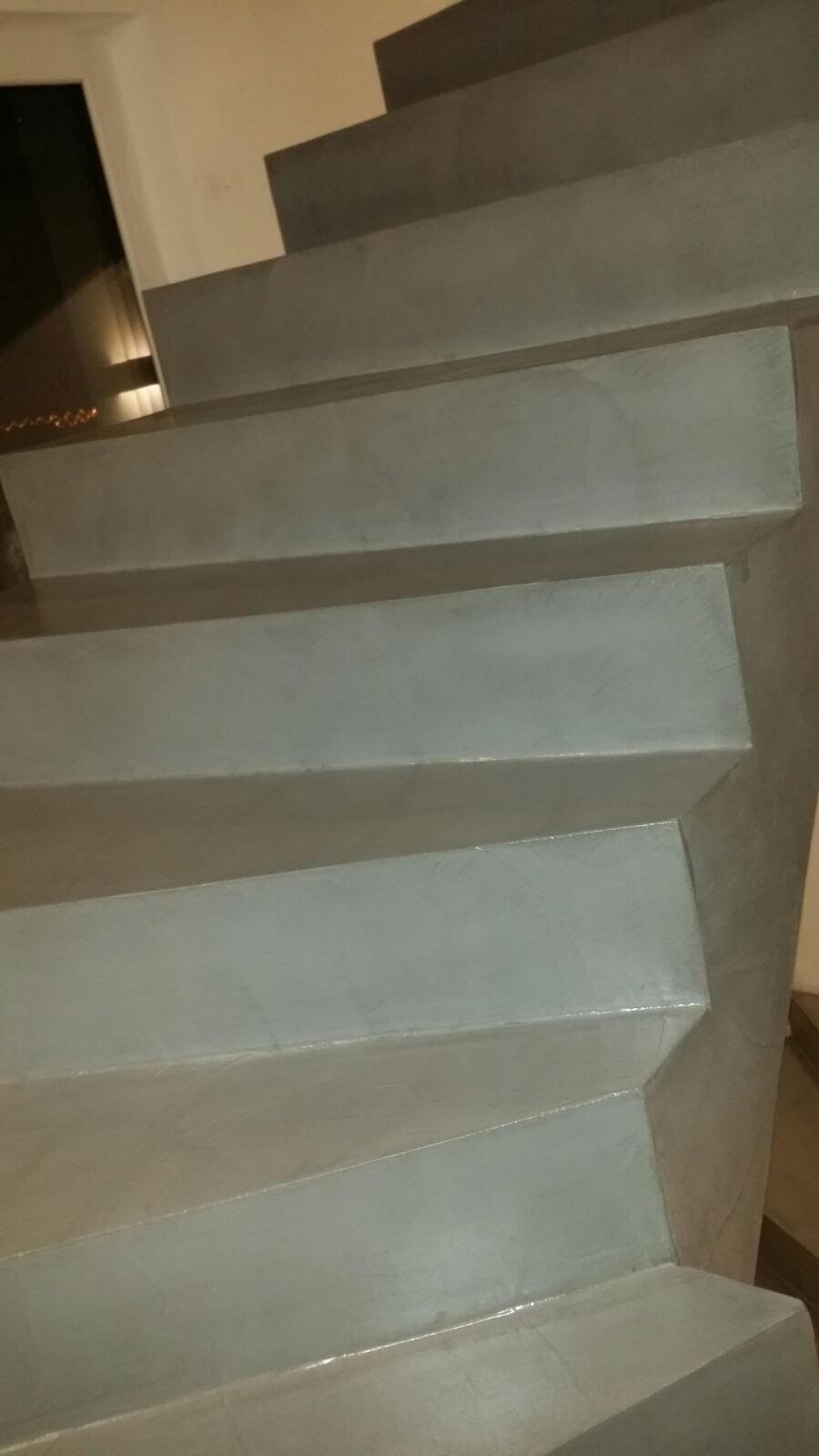 Beton Cire Treppe designbeton bzw beton ciré für treppen eine sehr gute wahl