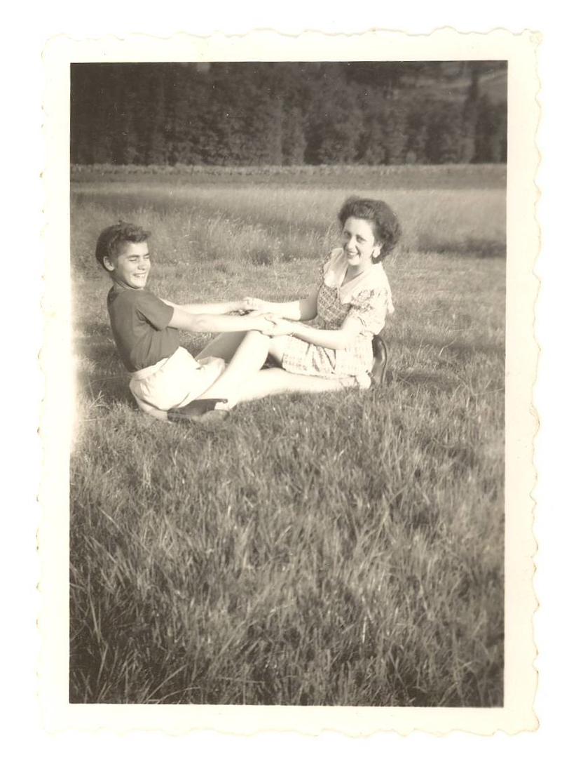 Maria et sa mère