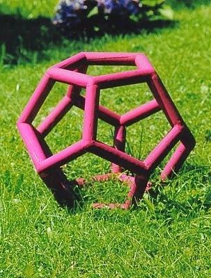 Gartenobjekt Dodekaeder